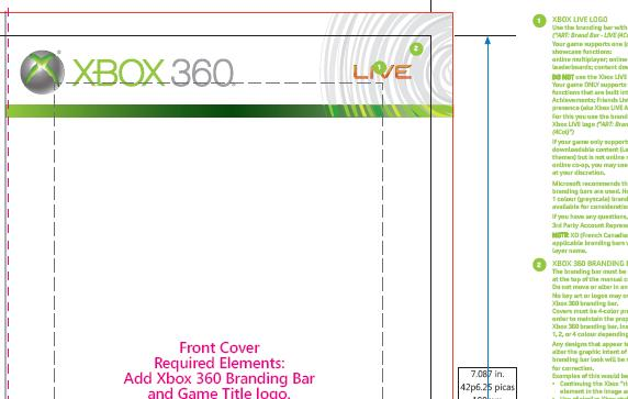 what are the dimensions of an xbox 360 game case