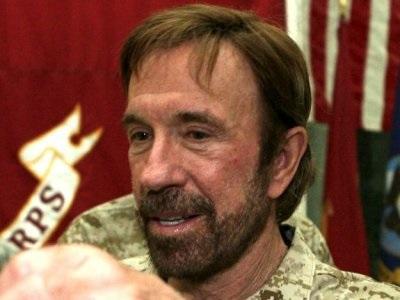 L'acteur américain Chuck Norris